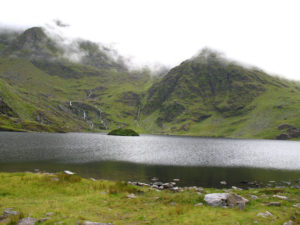 Jezero pod Carrauntuohill.