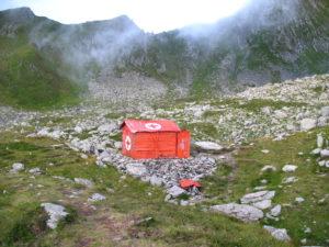 Původní refuge Fereastra