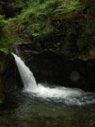 Vodopád Stříbrného potoka