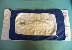 Funknční ručník Jurek Terry Towel a dva běžné froté ručníky (na obličej a tělo))