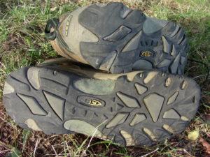 podrážka bot Keen