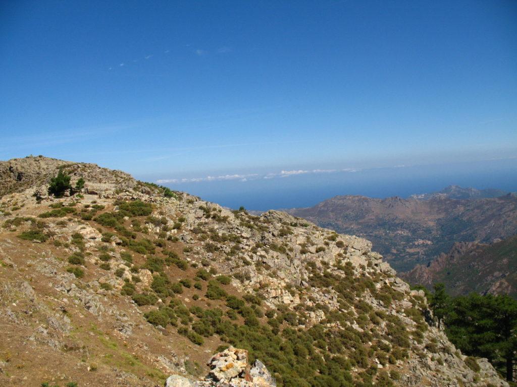 Výhledy na Korsice na trase GR 20