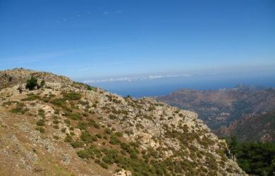 vyhledy na Korsice na trase GR 20