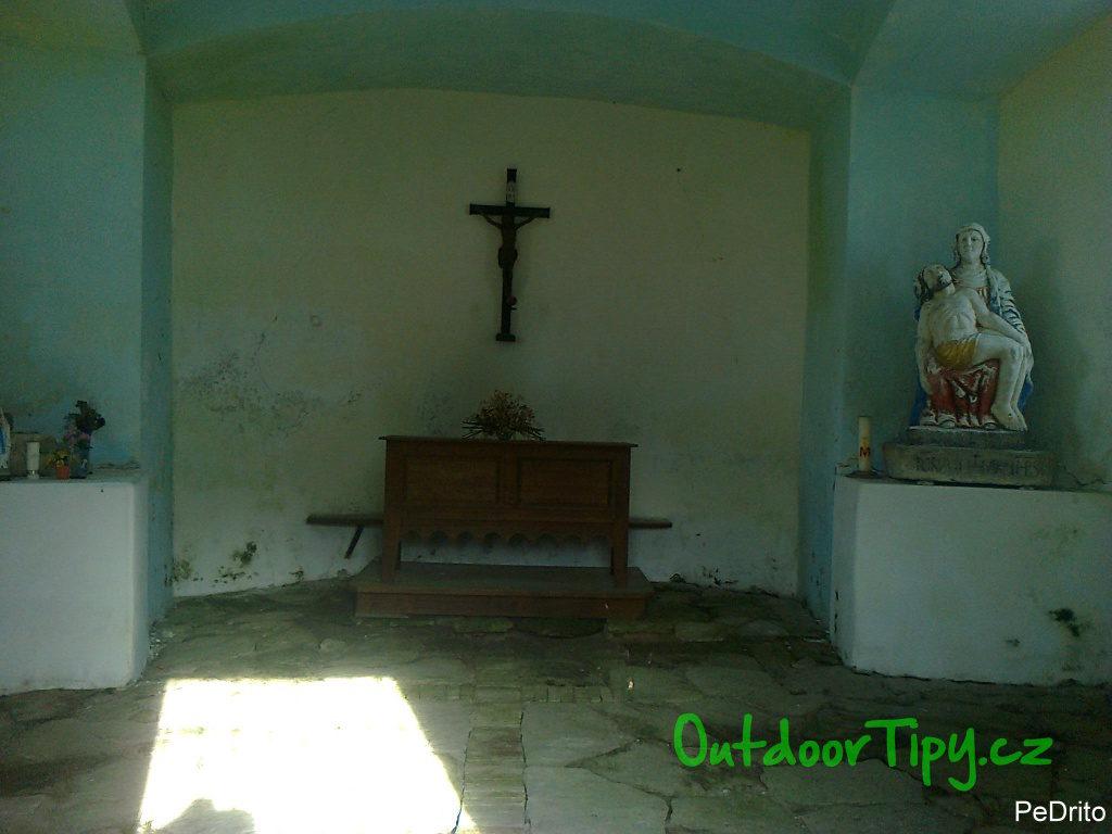 Interiér Kunštátské kaple