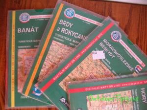 turistické mapy