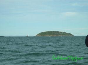 Puffin Island z vyhlídkové lodi