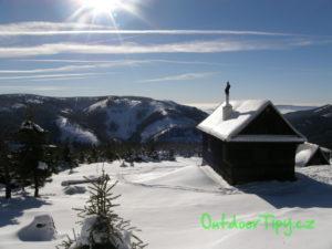 Františkova chata v zimě