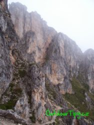Ferraty pod planinou Monte Nuvolau