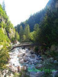 Jeden z mnhoha mostů na trase