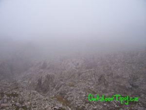 Mesačná planina pod Monte Nuvolau