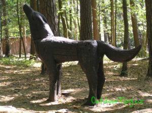 Pivečkův lesopark - vlk