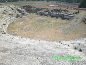 Amfiteáter v Stobi
