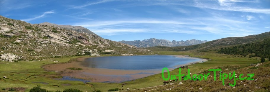 jezero Nino na Korsice