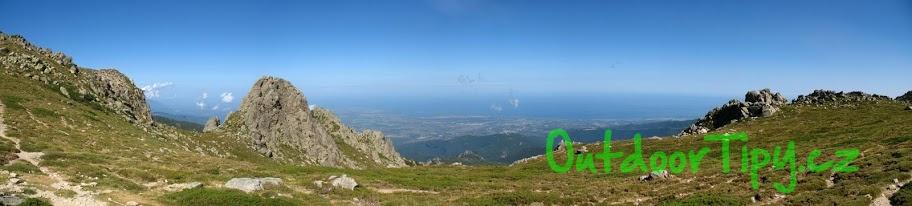 Panorama hor, Korsika