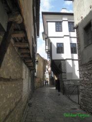 Stredoveké uličky Ochridu