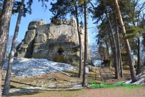 Přístup k hradu