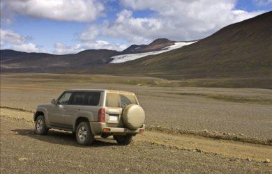 jeep na islandu