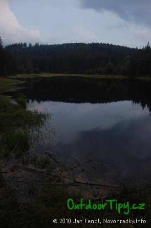 romantika letního podvečera u Kapelníkova rybníka
