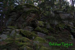 skaliska na Cikánském vrchu