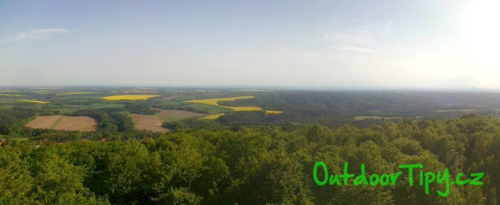 panoramatický výhled z Vrátenské rozhledny