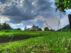 kostelík v Milešově