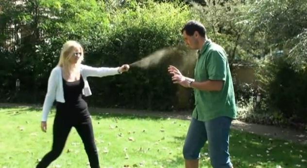 použití pepřového spreje