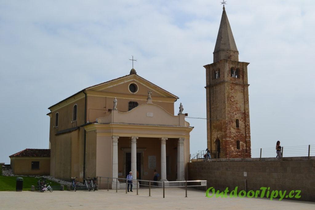 kostel Santuario della Madonna dell'Angelo