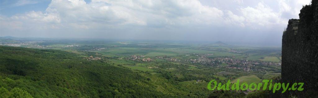 pohled z Košťálu