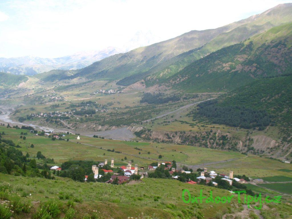 údolí Mestie
