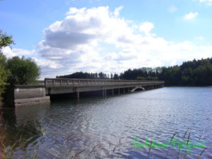 most na Sedlickým údolím