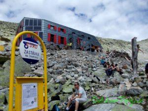 Zastávka na znamení u Chaty pod Rysmi