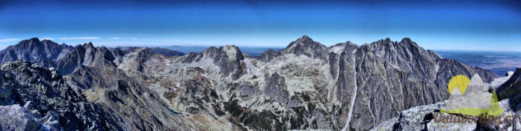 Odměna za námahu přichází ve formě krásného panoramatického výhledu