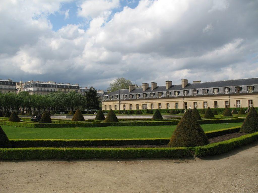 Park v Paříži