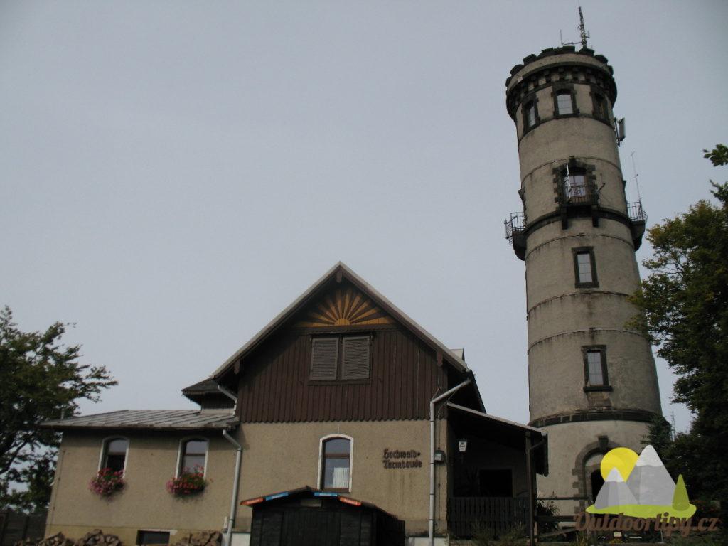 Rozhledna Hvozd (Hochwald)