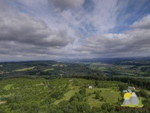 pohled do krajiny Českého ráje