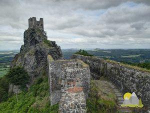 pohled na vrchol Baba