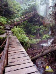 stezka kolem vodopádů Bílé Opavy