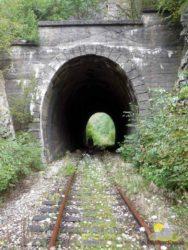 tunel na trati z Vareše