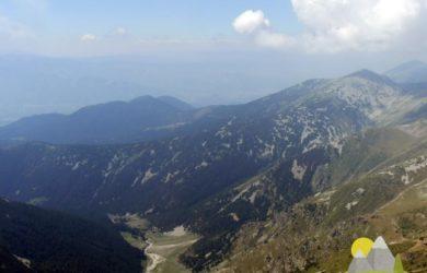 výhled z vrcholu Vichrenu