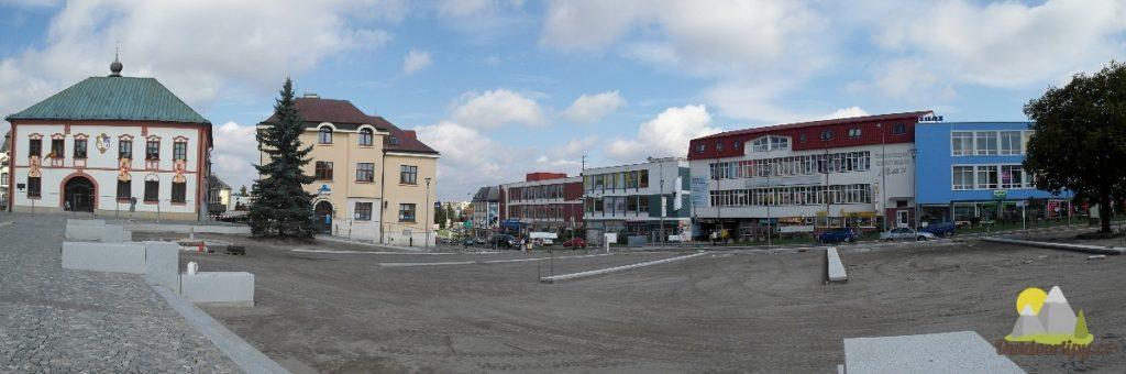 náměstí ve Žďáru nad Sázavou
