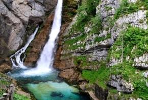 Cestou k vodopádu Savica