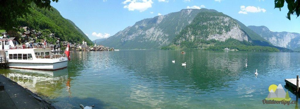 první pohled: Hallstatt a Hallstattské jezero