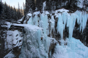 lezení ledů