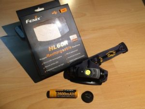 recenze čelovky Fenix HL60R