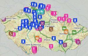 Zobrazit mapu výletů