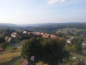 Pohled na Horu Sv. Kateřiny