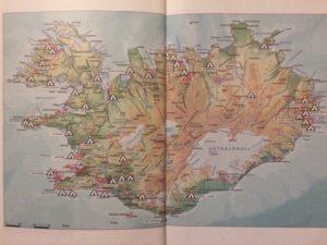 Mapa zapojených kempů