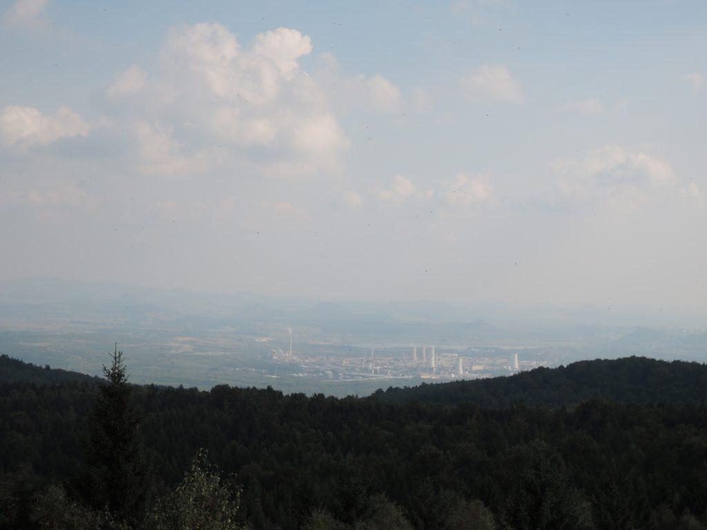 Pohled z rohledny Jeřabina