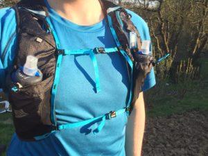 Dvojitý hrudní pás zajišťuje stabilizaci batohu.