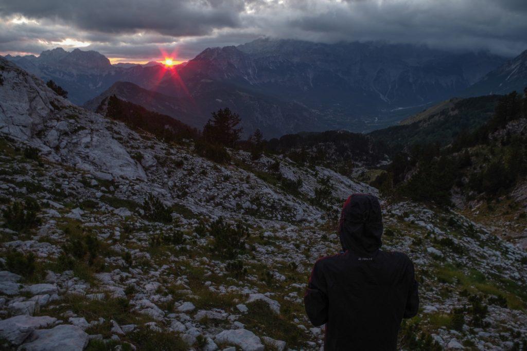 Výhled na západ slunce